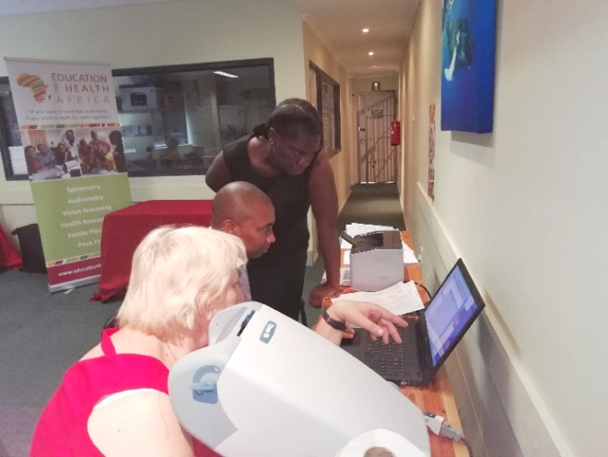 Vision Screening Training South Africa