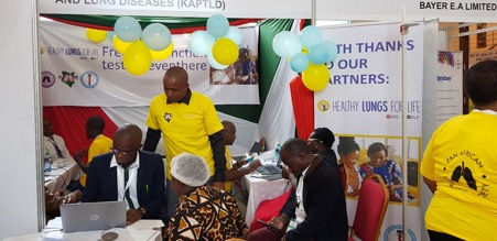 Healthy Lungs For Life Event, Nairobi Kenya